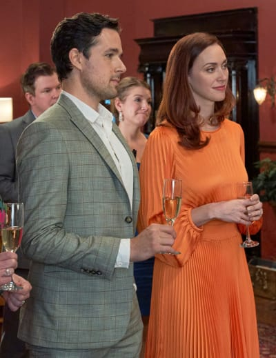Donovan and Abigail at the Party - Good Witch Season 7 Episode 1