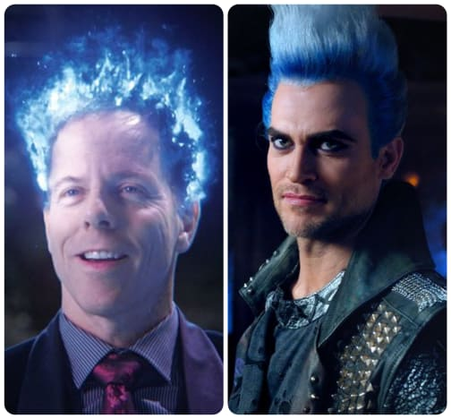 Hades Comparison - Once Upon a Time Season 5 Episode 15