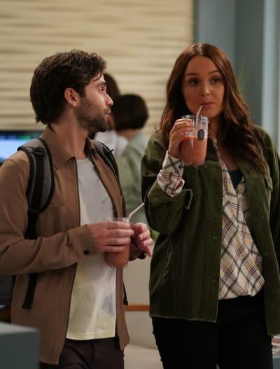 Heartbroken Roomies - Tall  - Grey's Anatomy Season 16 Episode 20