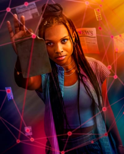 Naomi on The CW