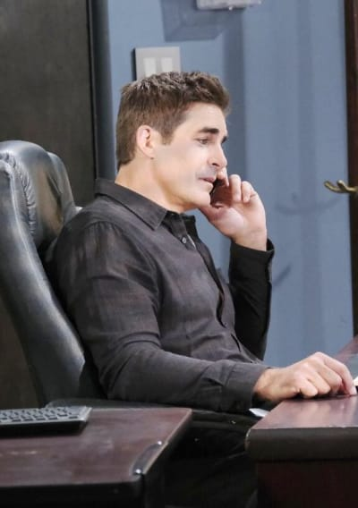 Rafe Gives Ben Advice  / Tall - Days of Our Lives