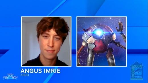 Angus Imrie as Zero - Star Trek: Prodigy