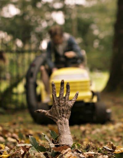 Getting Zombie Handsy