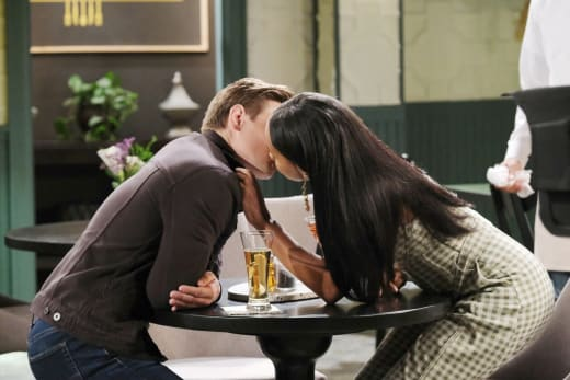 A Passionate Kiss - Days of Our Lives