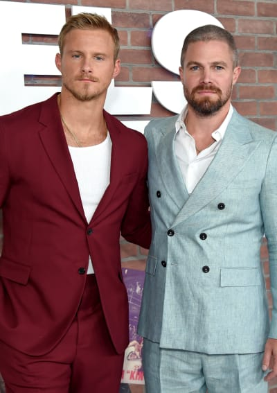 Alexander and Stephen at the Heels Premiere