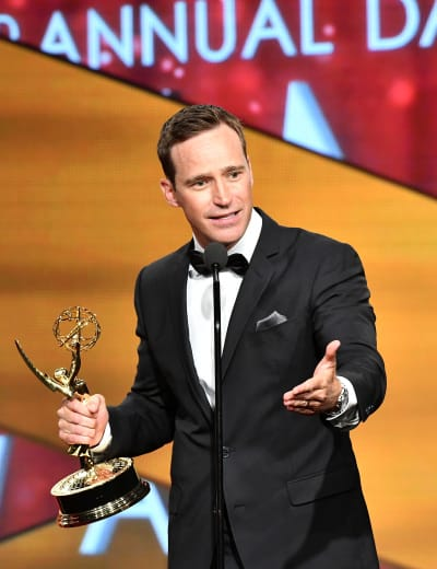 Mike Richards Attends Daytime Emmy Awards