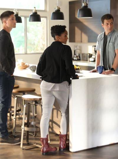 Plan a Plotting Tall - The Rookie Season 4 Episode 1