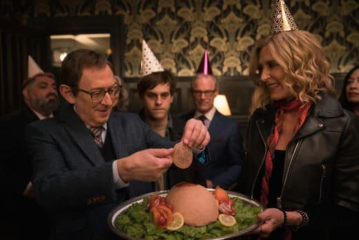 Head Cheese for the Birthday Boy - EVIL Season 2 Episode 13