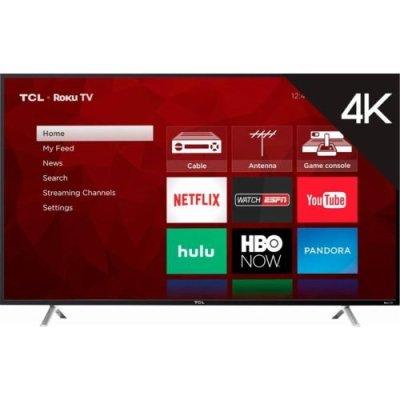 TCL 49″ Class 4K Roku (49S405) - TV Sizes