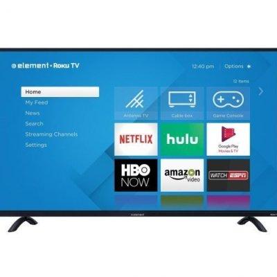 Element Roku TV 55 inch 4K UHD - TV Sizes