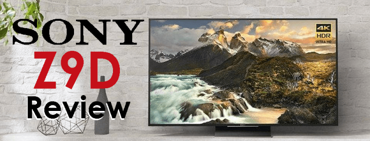 Sony TV Reviews : The Z9D - TV-Sizes