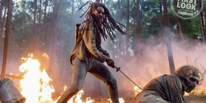 the walking dead danai gurira michonne