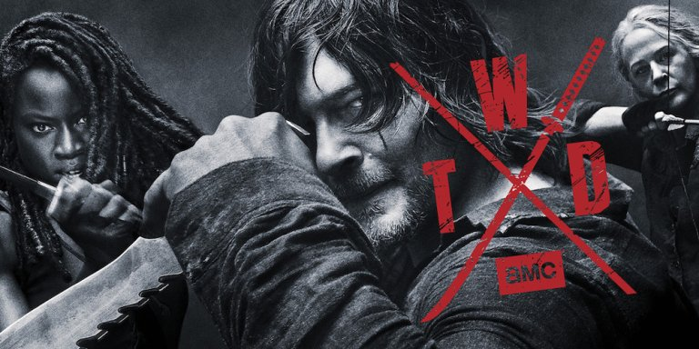 walking dead banner slide