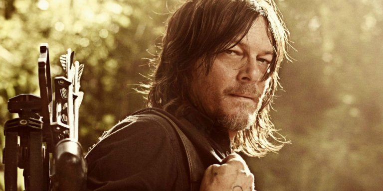 The Walking Dead Norman Reedus banner 10 finale AMC