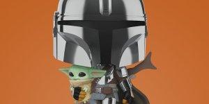 Mandalorian Baby Yoda Funko Pop