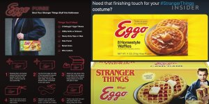 Netflix product placement eggo stranger things
