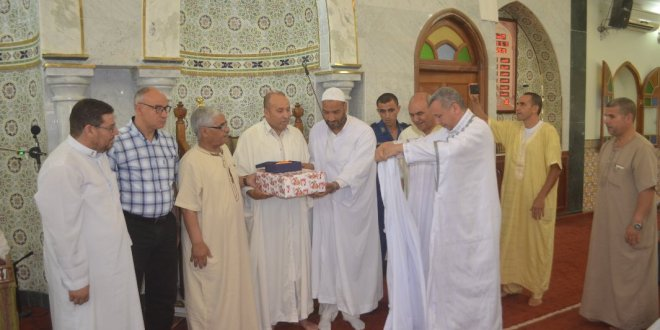 فيديو ادارة الشؤون الدينية تكرمان الامام المجاهد قدور دحيري رحمه الله