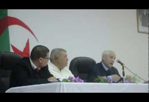 كلمة المجاهد محمد مهري احد اعمدة ألآذاعة السرية أبان الثورة التحريرية