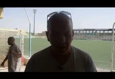 حوار مع مدرب امل بوسعادة السيد عبد الحق بوقرة