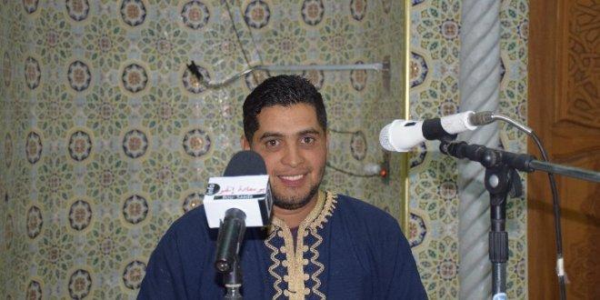 ابتهال المنشد مسعودي مؤذن مسجد حمزة بن عبد المطلب
