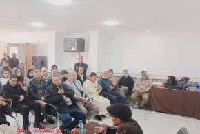 جلسة تعريف وعرض لإصدار الأستاذ أحمد بروان لمعجم فصيح لهجة أولاد نايل