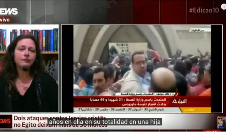 Iglesias cristianas en Egipto son atacados, dejando decenas de muertos