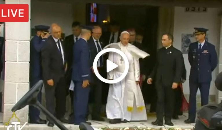 Sigue la visita del Papa Francisco a Fátima  #Fátima100