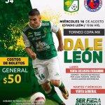 León vs Veracruz en Vivo por Internet Copa MX 2017