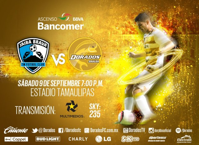 Tampico Madero vs Dorados en Vivo 2017 Ascenso MX 2017