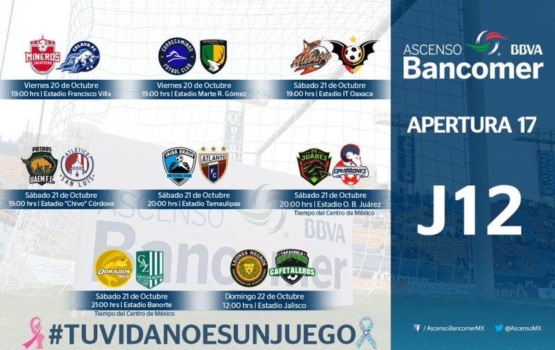 Mineros vs Celaya en Vivo Fox Sports Ascenso MX 2017