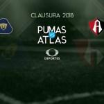 Pumas vs Atlas en Vivo por Televisa Deportes Liga MX 2018