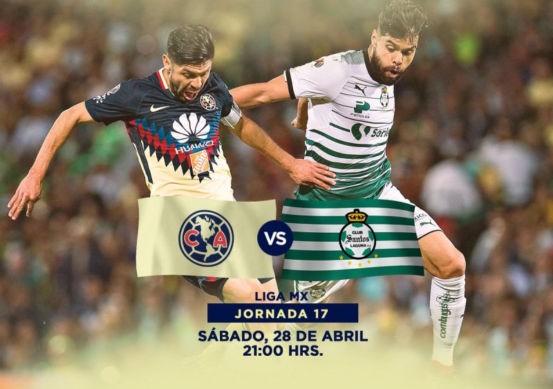 en que canal juega América vs Santos en Vivo Liga MX 2018