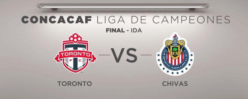 En que canal juega Toronto vs Chivas en Vivo CONCACAF Liga de Campeones 2018