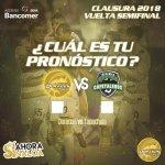 Semifinal de vuelta Dorados vs Cafetaleros en Vivo Ascenso MX 2018