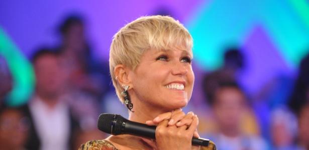 Xuxa grava programa especial para comemorar seu aniversário de 49 anos (21/2/12)