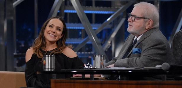 """Gabriela Duarte é entrevistada no """"Programa do Jô"""" (26/6/12)"""