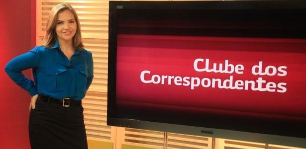 "A jornalista Leila Sterenberg apresenta o ""Clube dos Correspondentes"" (22/7/2012)"