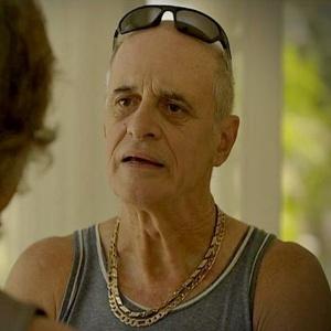 Marcos Caruso no papel de Leleco