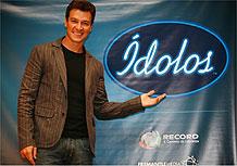 Rodrigo Faro, que apresentará Ídolos na Record
