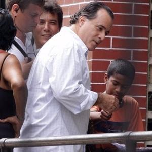 Tony Ramos em gravação de Passione em Jacarepaguá, na zona oeste do Rio (2/12/10)