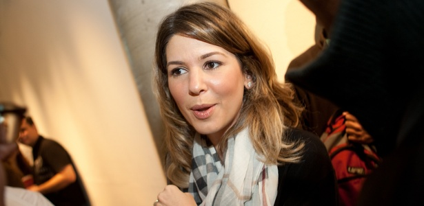 Daniela Abravanel Beyruti, filha do apresentador Silvio Santos e Iris Abravanel