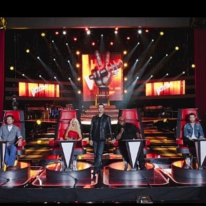 "Jurados do programa ""The Voice"""
