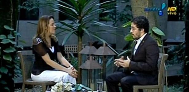 Jean Wyllys é entrevistado por Regina Volpato no Manhã Maior (1/12/11)