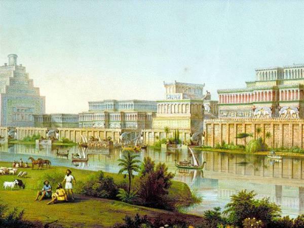 Il palazzo di Ninive[1]