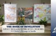 3.3 Christ's Message to Sardis – JESUS' MESSAGES TO THE SEVEN CHURCHES | Pastor Kurt Piesslinger, M.A.