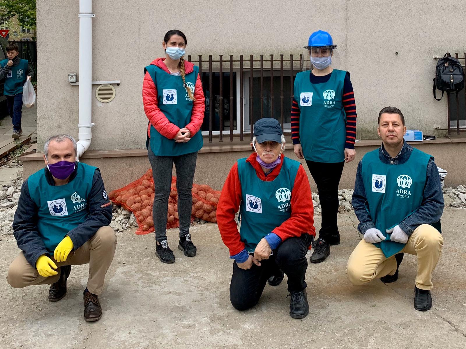 """3.558 persoane primesc ajutor în cea de-a 6-a săptămână de implementare a proiectului ADRA """"Sprijin umanitar COVID-19"""""""