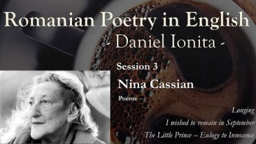 Romanian Poetry in English – Session 3 – Nina Cassian