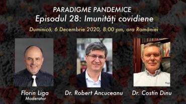 Episodul 28: Imunități covidiene cu Dr. Robert Ancuceanu și Dr