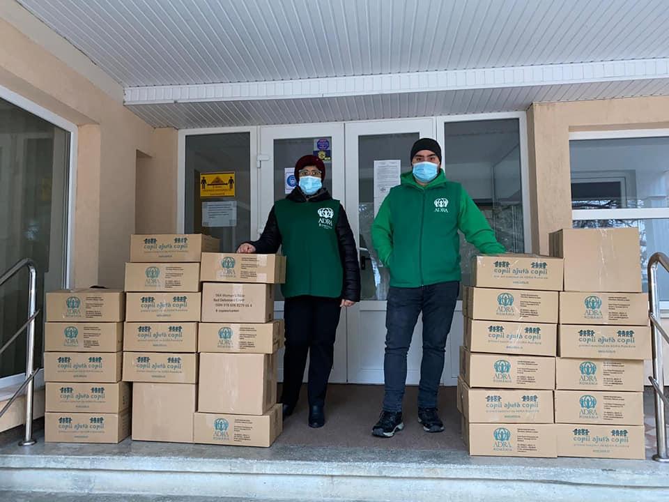 """995 de persoane primesc ajutor în cea de-a 41-a săptămână de implementare a proiectului ADRA """"Sprijin Umanitar COVID-19"""""""