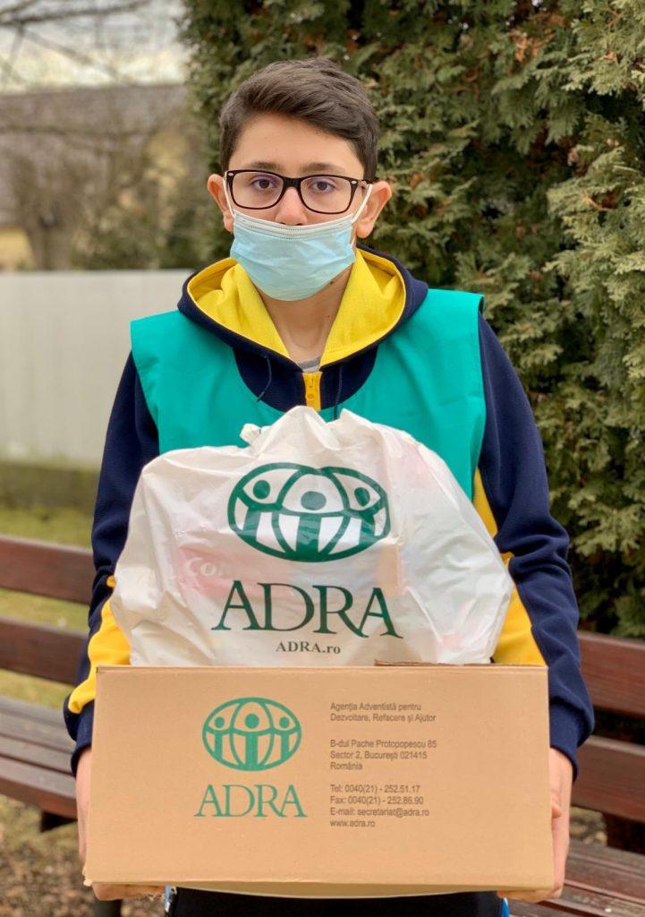 """1.270 de persoane primesc ajutor în cea de-a 47-a săptămână de implementare a proiectului ADRA """"Sprijin Umanitar COVID-19"""""""